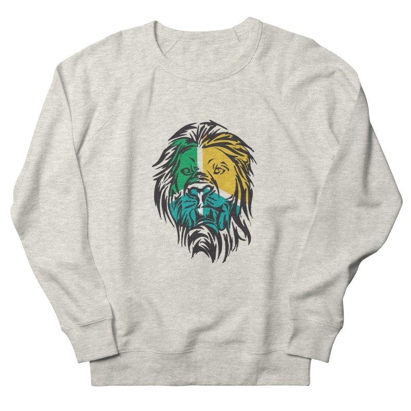 LionFace Men's Sweatshirt by marilcha's Artist Shop