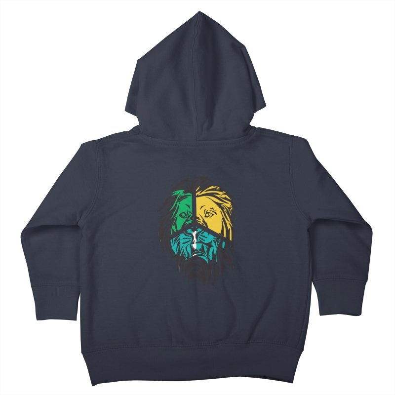 LionFace Kids Toddler Zip-Up Hoody by marilcha's Artist Shop