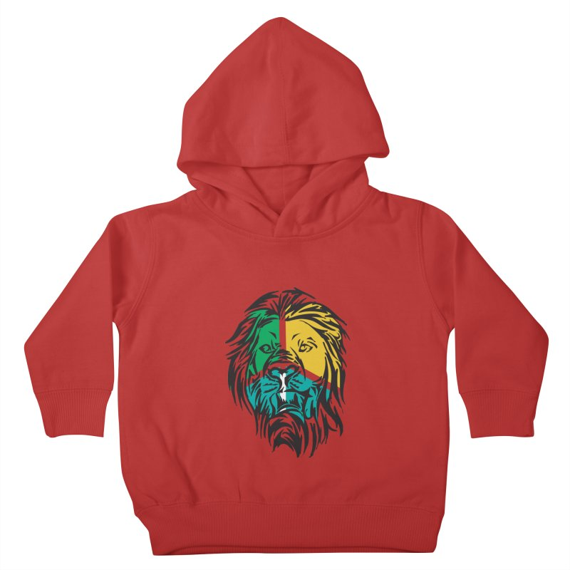 LionFace Kids Toddler Pullover Hoody by marilcha's Artist Shop