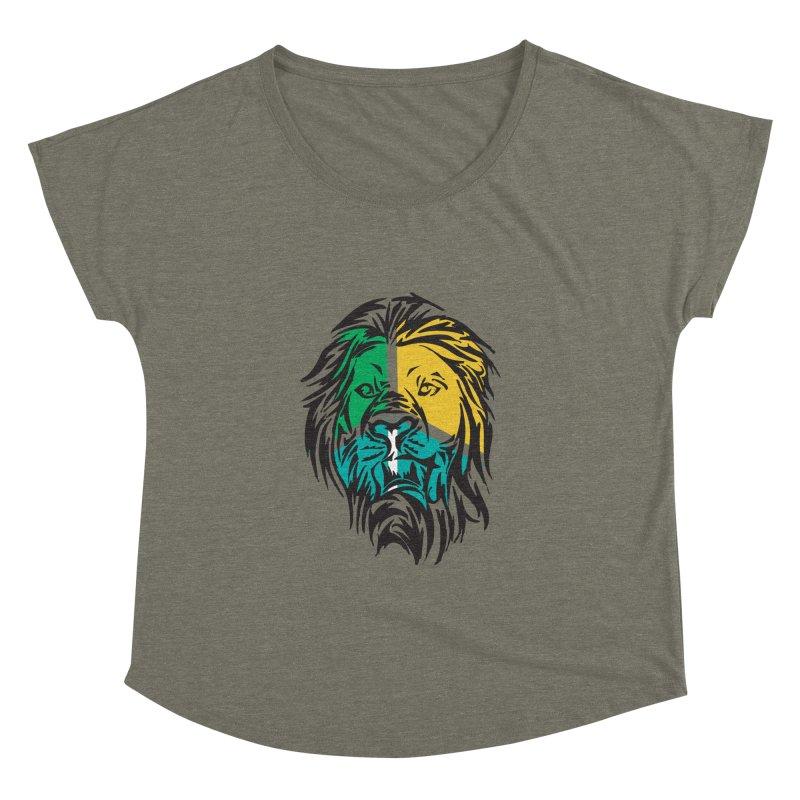 LionFace Women's Dolman by marilcha's Artist Shop