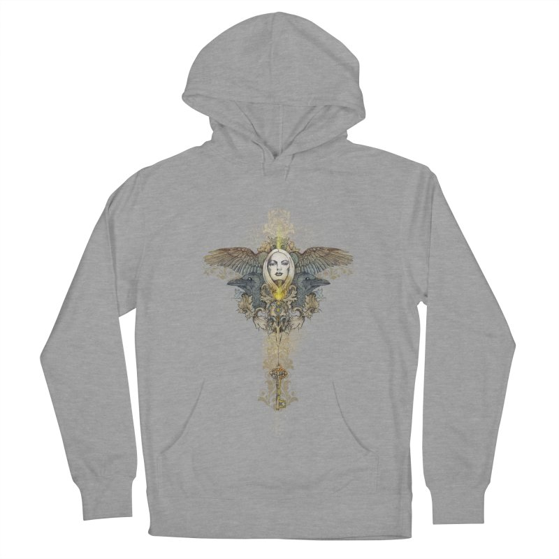 Nothing is heavy to those who have wings Men's Pullover Hoody by marineloup's Artist Shop