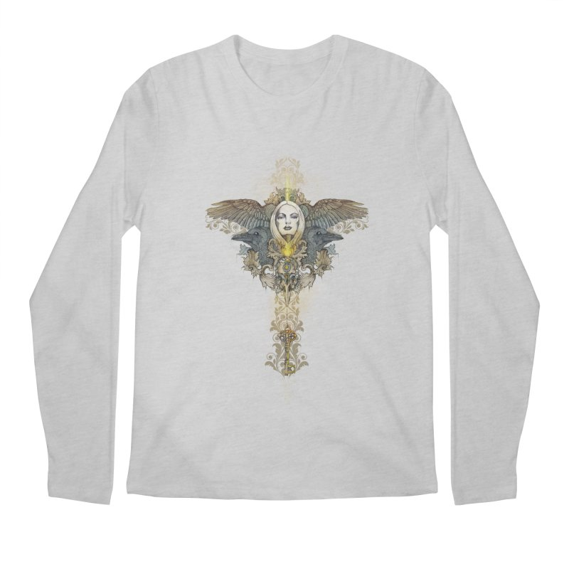Nothing is heavy to those who have wings Men's Longsleeve T-Shirt by marineloup's Artist Shop