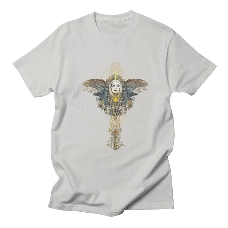 Nothing is heavy to those who have wings Men's T-shirt by marineloup's Artist Shop