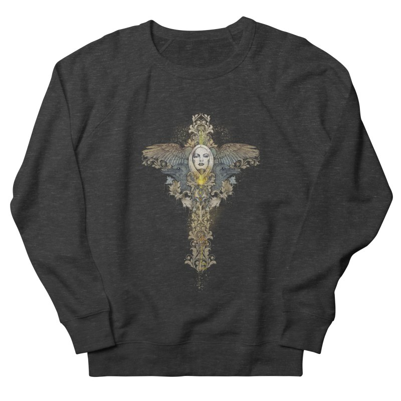 Nothing is heavy to those who have wings Women's Sweatshirt by marineloup's Artist Shop