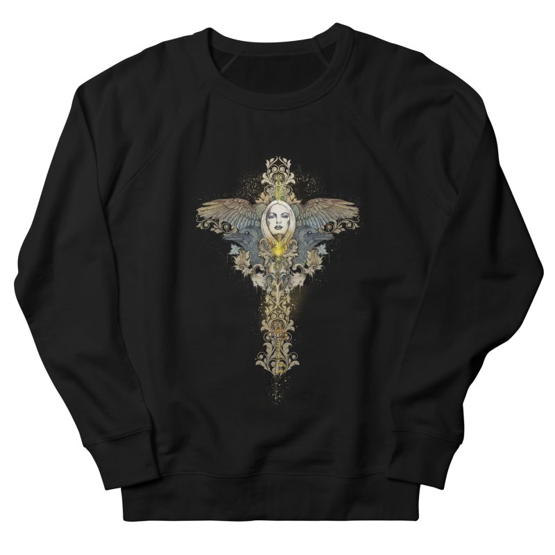 Nothing is heavy to those who have wings Men's Sweatshirt by marineloup's Artist Shop