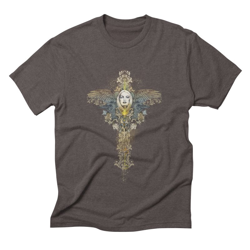 Nothing is heavy to those who have wings Men's Triblend T-Shirt by marineloup's Artist Shop