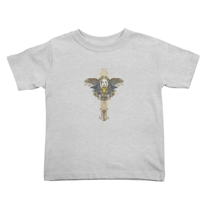 Nothing is heavy to those who have wings Kids Toddler T-Shirt by marineloup's Artist Shop