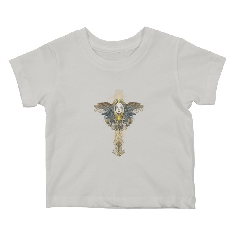 Nothing is heavy to those who have wings Kids Baby T-Shirt by marineloup's Artist Shop