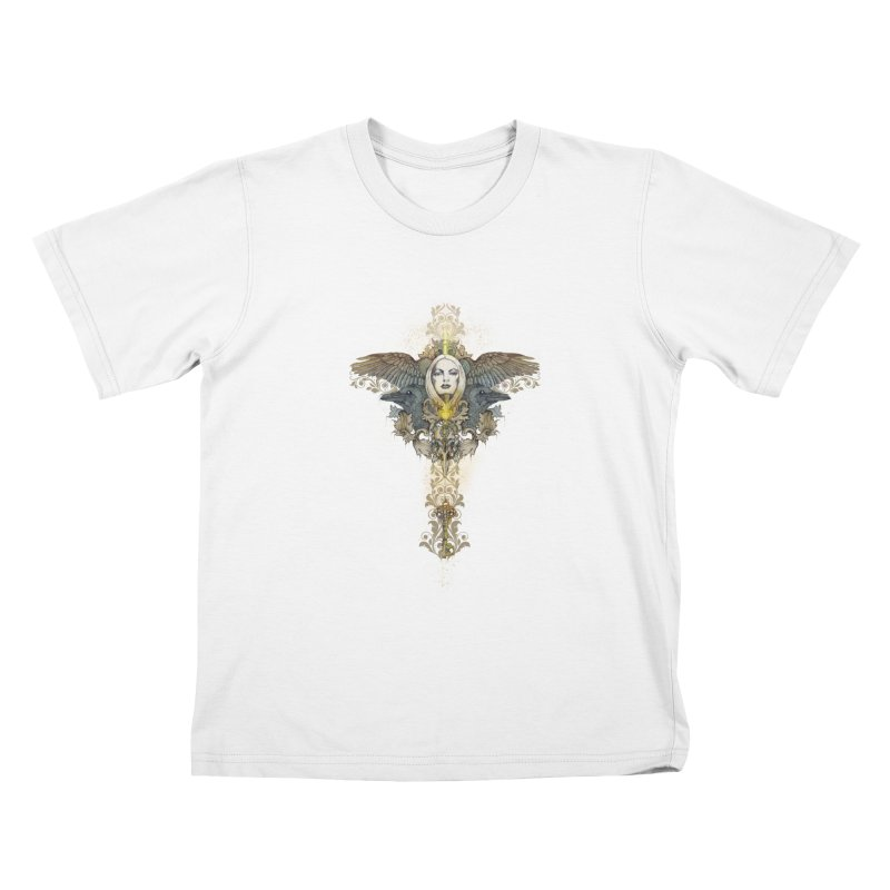 Nothing is heavy to those who have wings Kids T-shirt by marineloup's Artist Shop