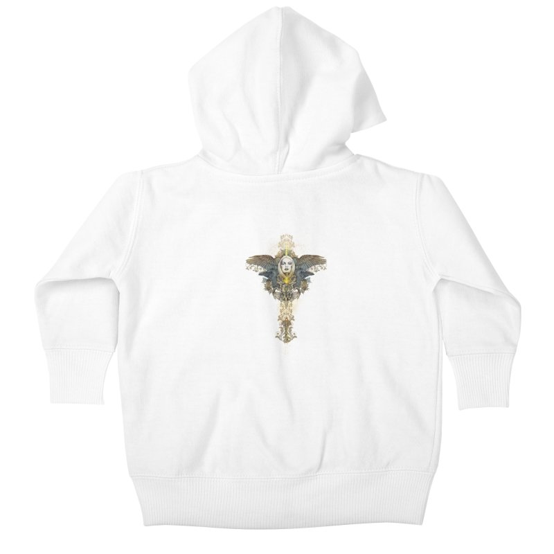 Nothing is heavy to those who have wings Kids Baby Zip-Up Hoody by marineloup's Artist Shop