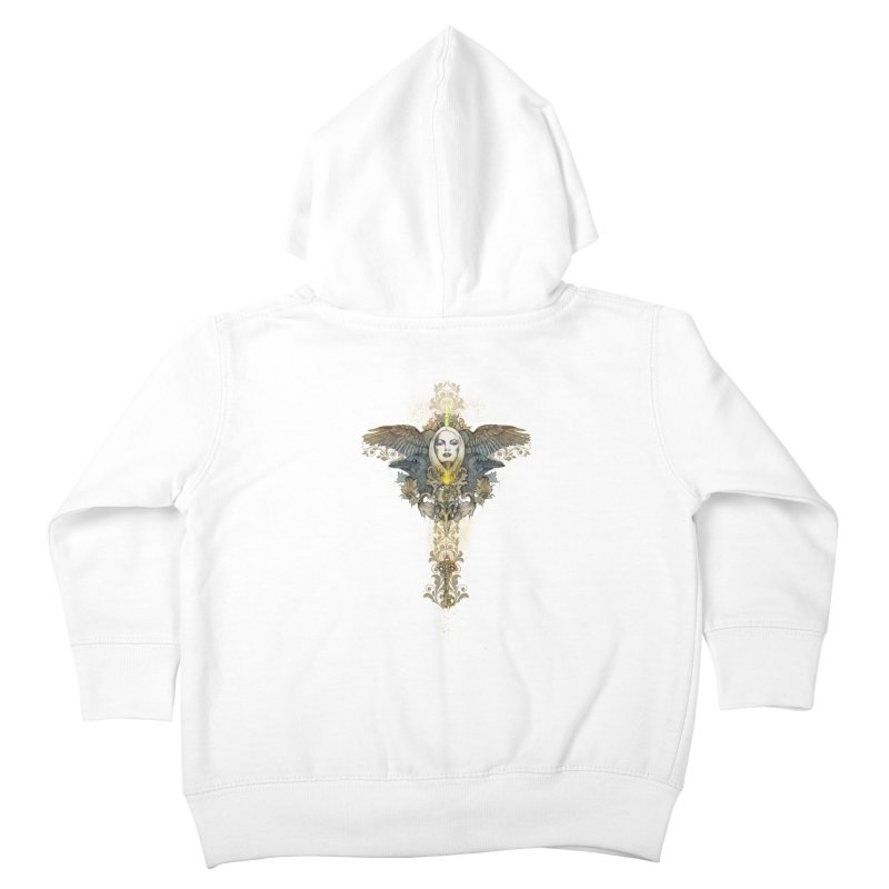 Nothing is heavy to those who have wings Kids Toddler Zip-Up Hoody by marineloup's Artist Shop