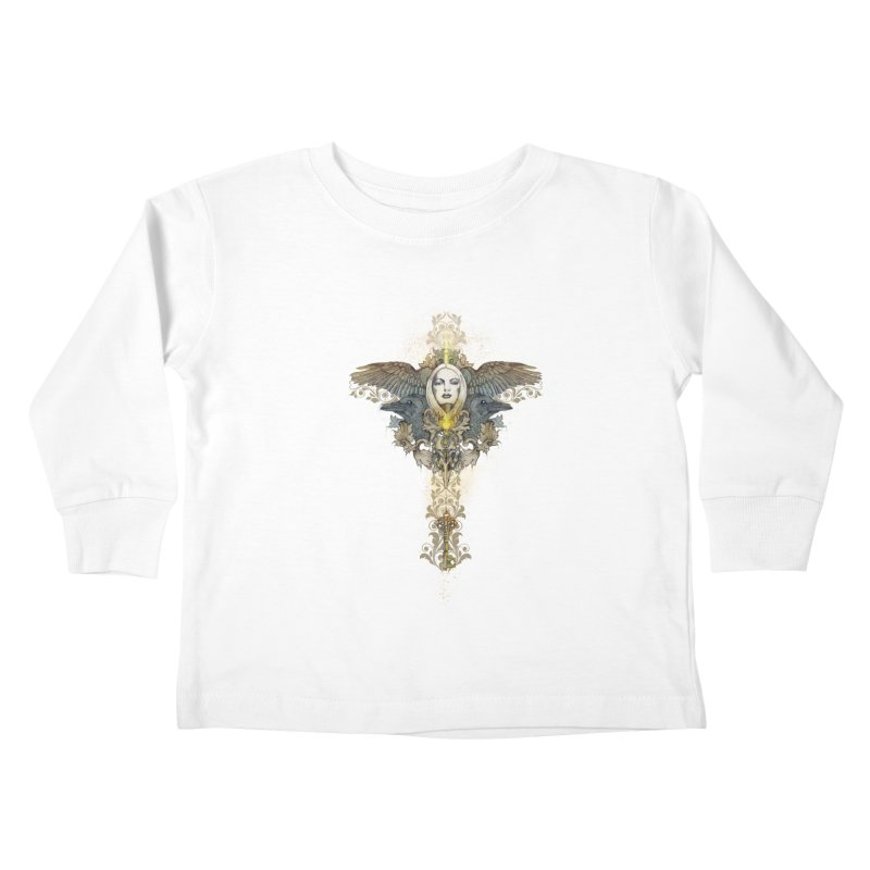 Nothing is heavy to those who have wings Kids Toddler Longsleeve T-Shirt by marineloup's Artist Shop