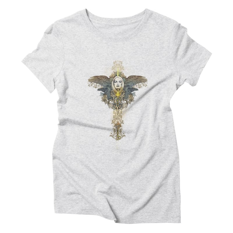 Nothing is heavy to those who have wings Women's Triblend T-Shirt by marineloup's Artist Shop