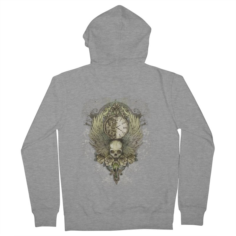 wings of time Men's Zip-Up Hoody by marineloup's Artist Shop