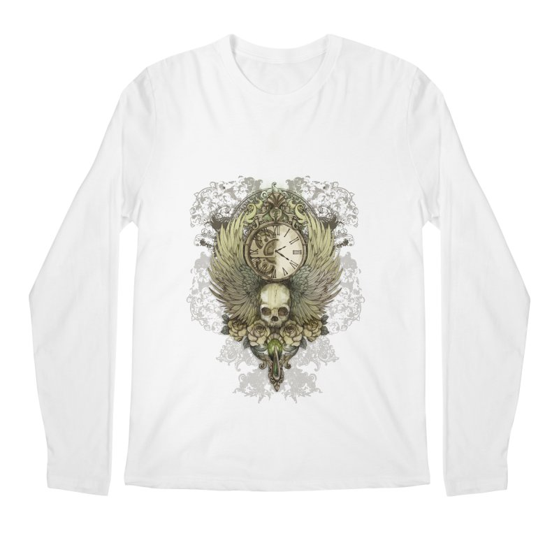 wings of time Men's Longsleeve T-Shirt by marineloup's Artist Shop