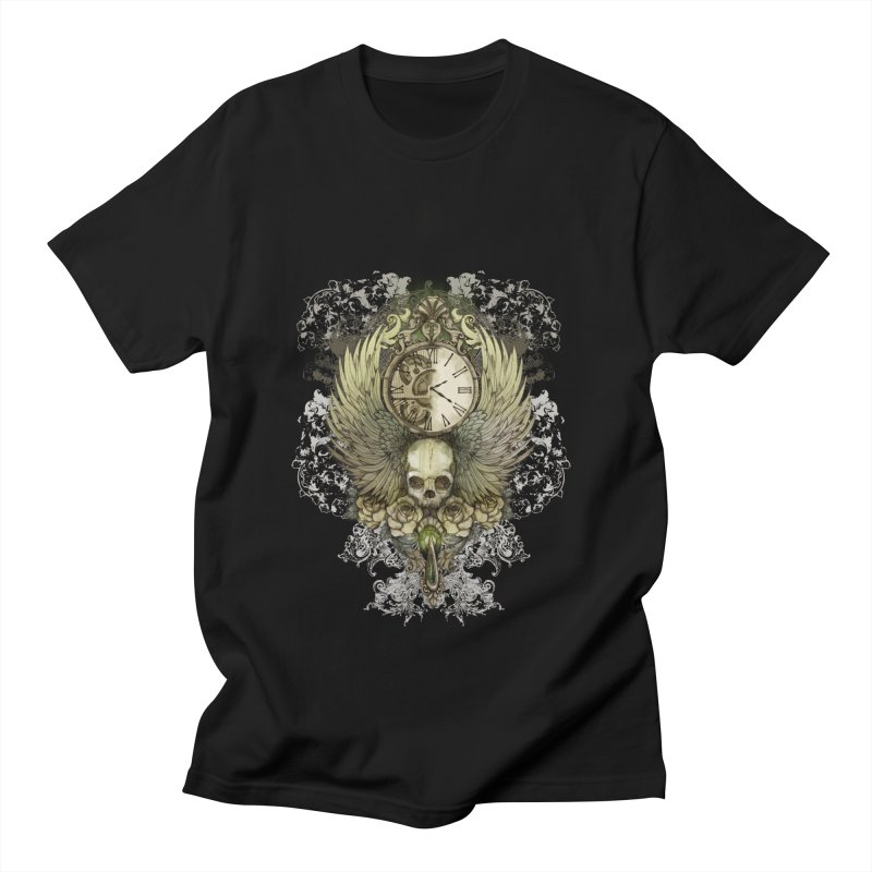 wings of time Men's T-shirt by marineloup's Artist Shop