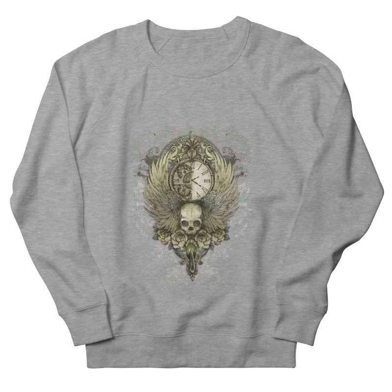 wings of time Men's Sweatshirt by marineloup's Artist Shop