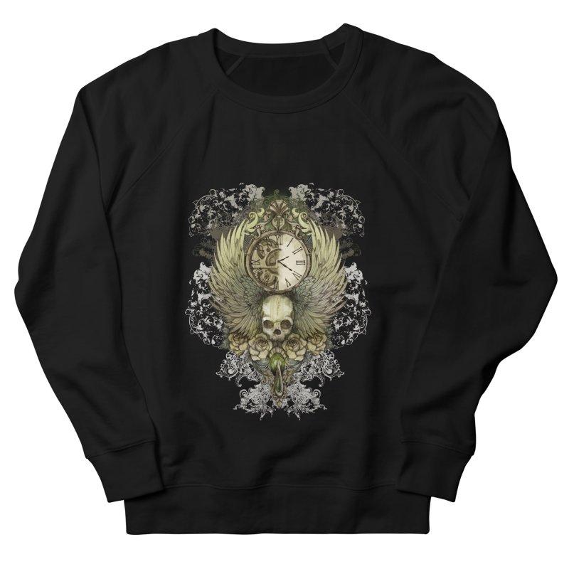 wings of time Men's Sweatshirt by marineloup's Artist Shop