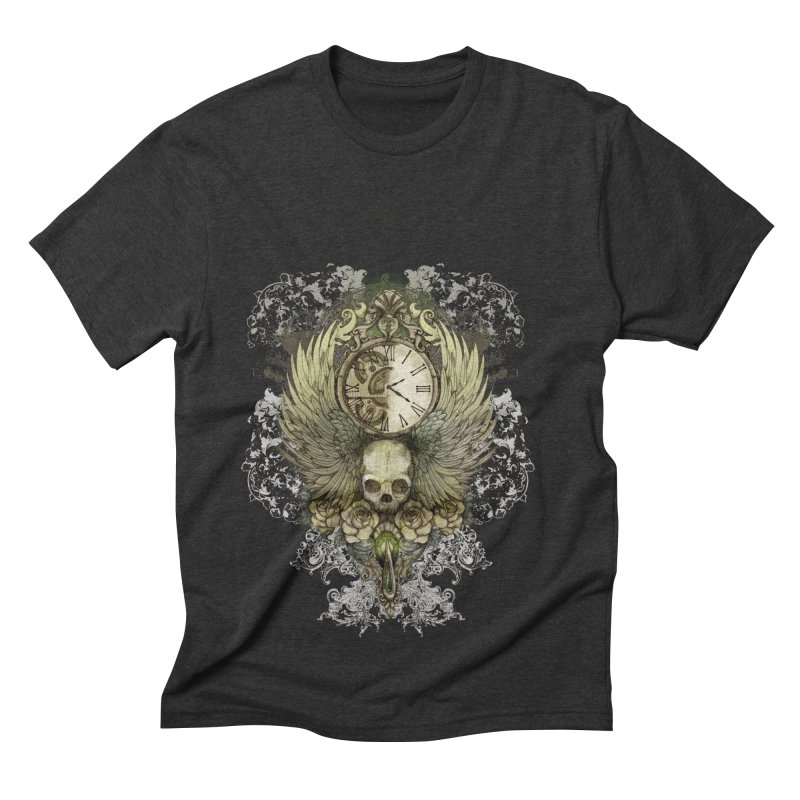 wings of time Men's Triblend T-shirt by marineloup's Artist Shop