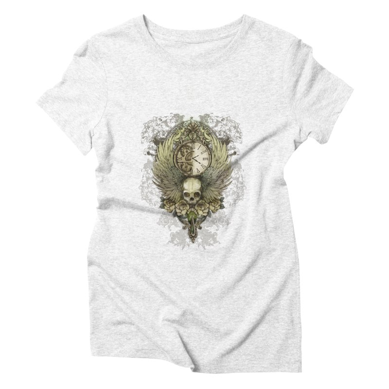 wings of time Women's Triblend T-shirt by marineloup's Artist Shop