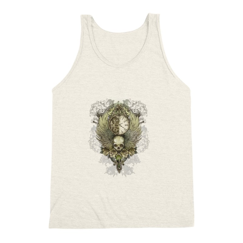 wings of time Men's Triblend Tank by marineloup's Artist Shop