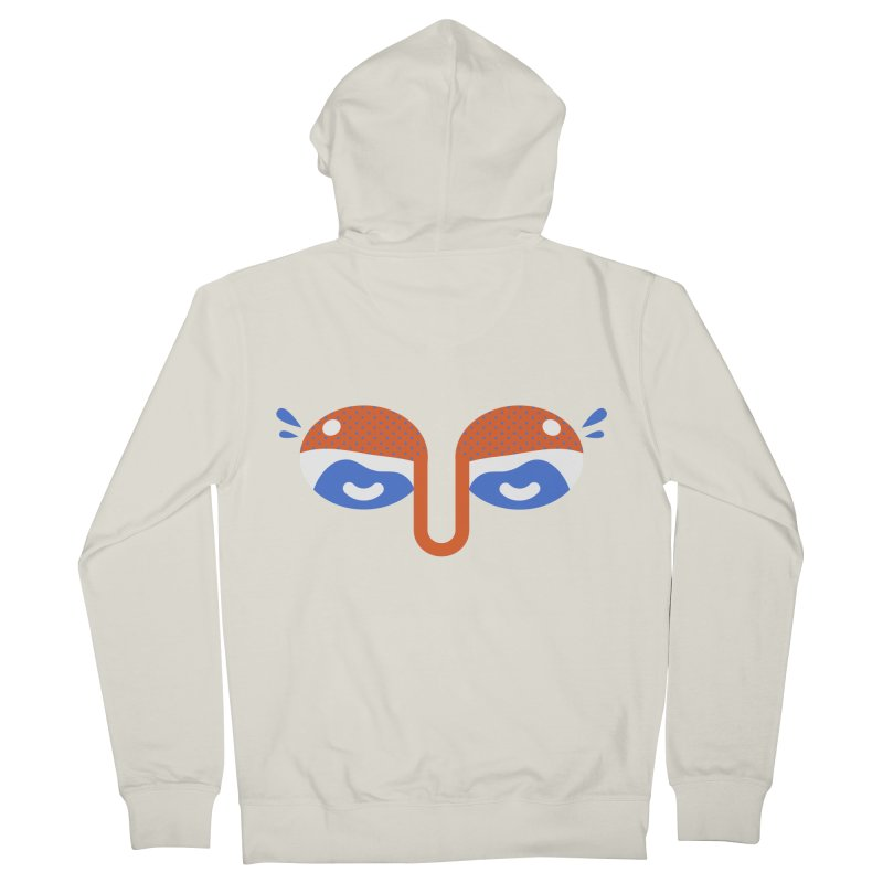 Someone watches me Men's French Terry Zip-Up Hoody by Mario Carpe Shop
