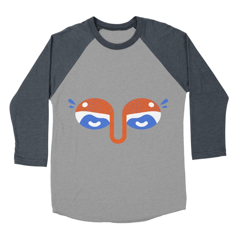 Someone watches me Women's Baseball Triblend Longsleeve T-Shirt by Mario Carpe Shop