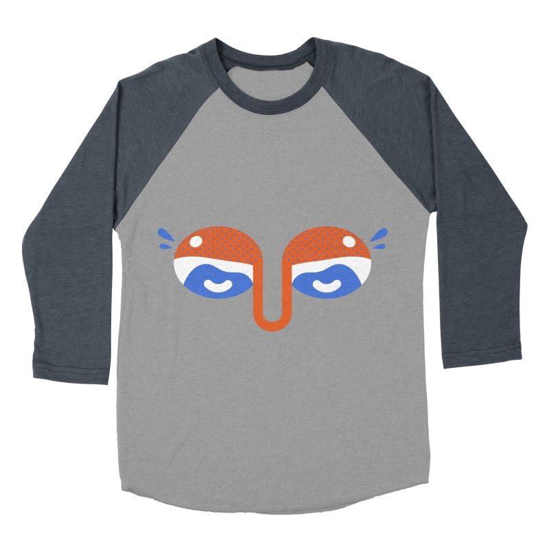 Someone watches me Men's Baseball Triblend T-Shirt by Mario Carpe Shop