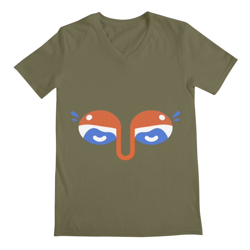 Someone watches me Men's V-Neck by Mario Carpe Shop
