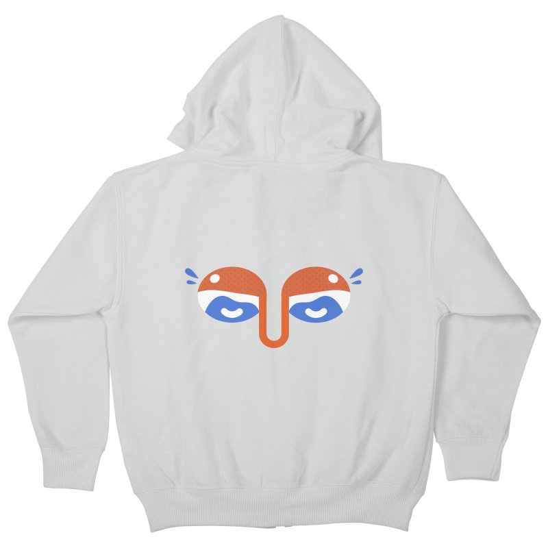 Someone watches me Kids Zip-Up Hoody by Mario Carpe Shop