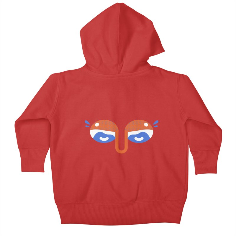 Someone watches me Kids Baby Zip-Up Hoody by Mario Carpe Shop