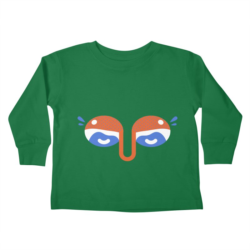 Someone watches me Kids Toddler Longsleeve T-Shirt by Mario Carpe Shop
