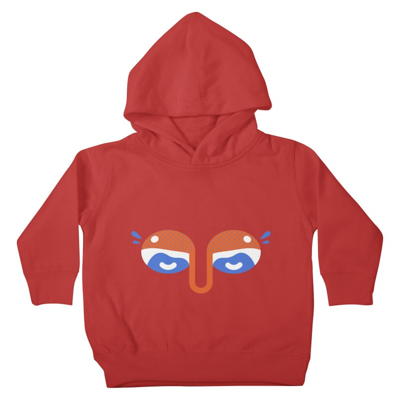 Someone watches me Kids Toddler Pullover Hoody by Mario Carpe Shop