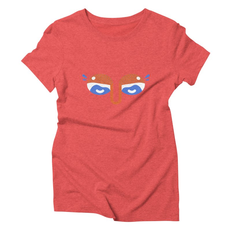 Someone watches me Women's Triblend T-Shirt by Mario Carpe Shop