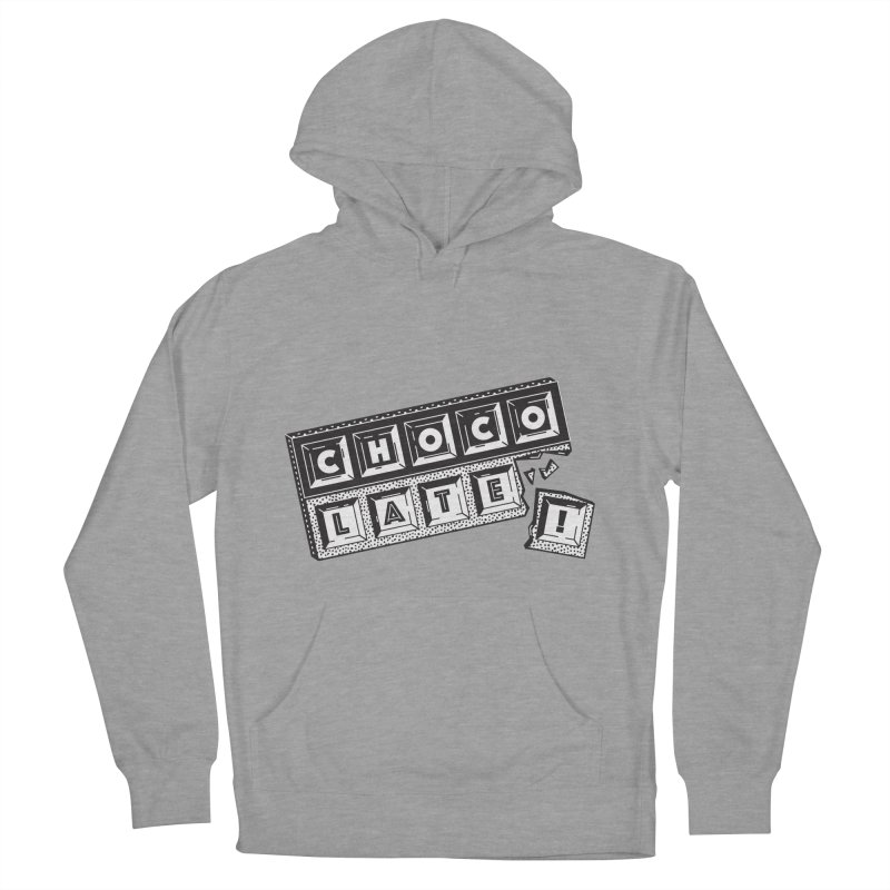 Chocolate! Women's French Terry Pullover Hoody by Mario Carpe Shop