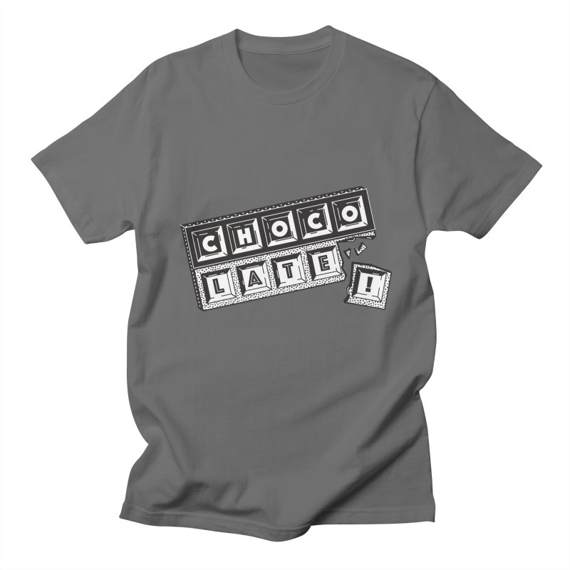 Chocolate! Men's Regular T-Shirt by Mario Carpe Shop