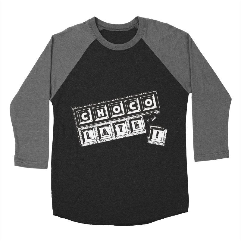 Chocolate! Women's Baseball Triblend T-Shirt by Mario Carpe Shop