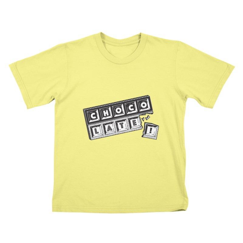 Chocolate! Kids T-shirt by Mario Carpe Shop