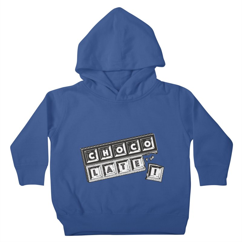Chocolate! Kids Toddler Pullover Hoody by Mario Carpe Shop