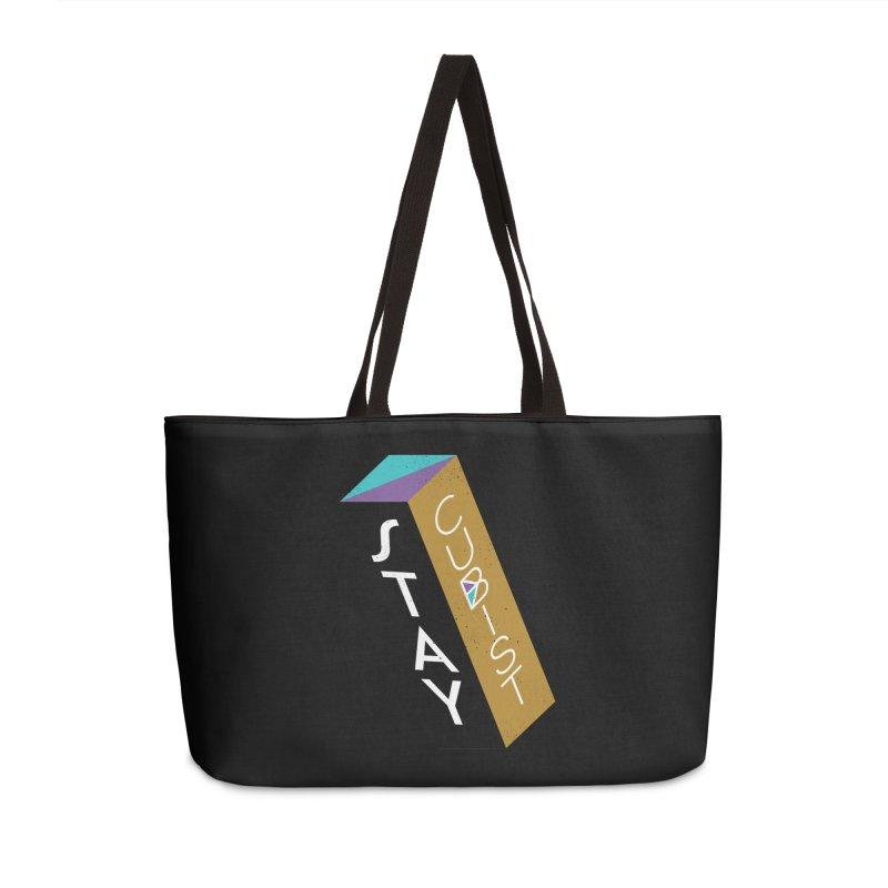 Stay Cubist Prism Accessories Weekender Bag Bag by Mario Carpe Shop