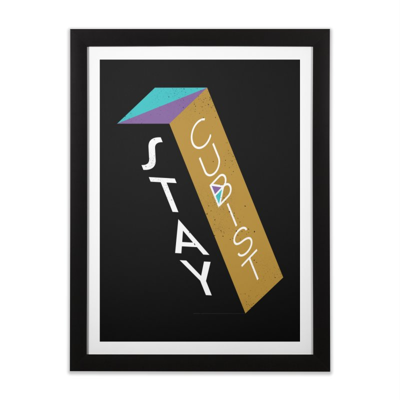 Stay Cubist Prism Home Framed Fine Art Print by Mario Carpe Shop