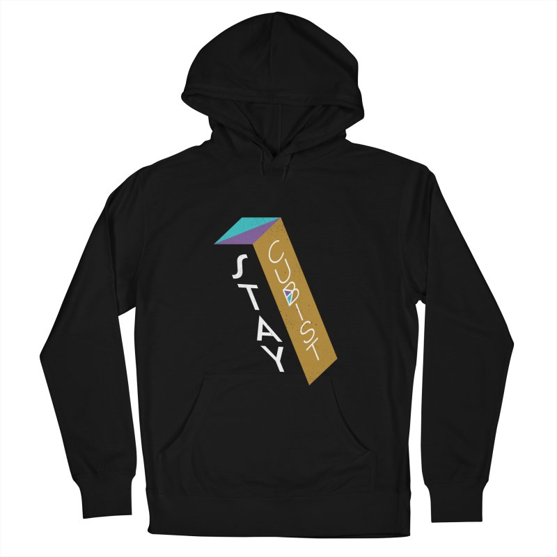 Stay Cubist Prism Women's Pullover Hoody by Mario Carpe Shop
