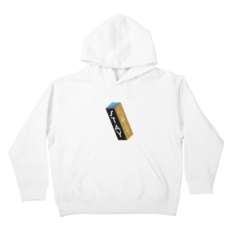 Stay Cubist Prism Kids Pullover Hoody by Mario Carpe Shop