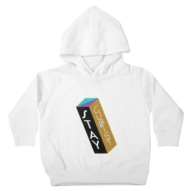 Stay Cubist Prism Kids Toddler Pullover Hoody by Mario Carpe Shop