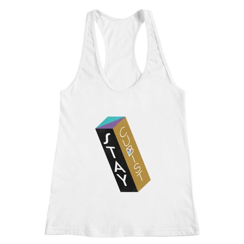 Stay Cubist Prism Women's Tank by Mario Carpe Shop