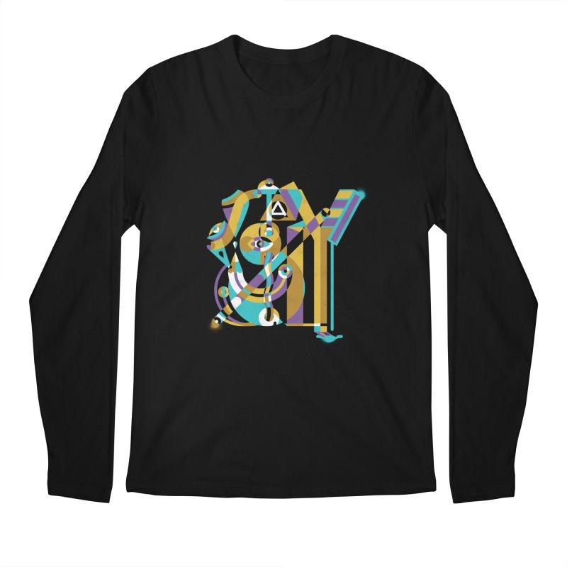 Stay Cubist Men's Longsleeve T-Shirt by Mario Carpe Shop