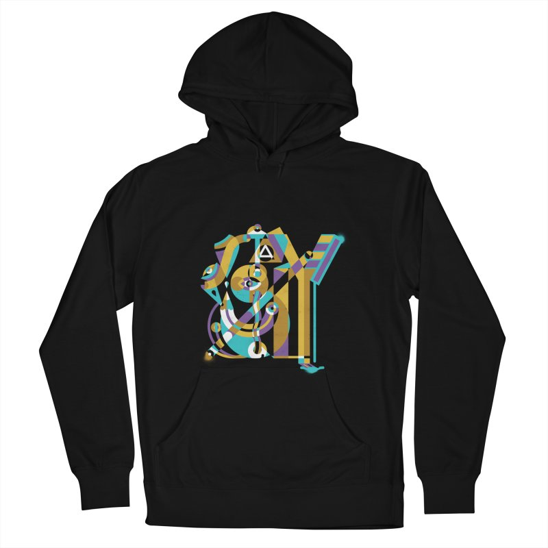 Stay Cubist Women's Pullover Hoody by Mario Carpe Shop