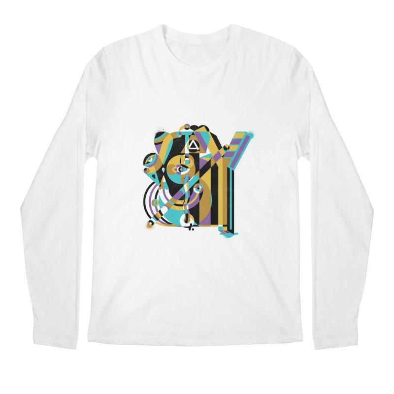 Stay Cubist Men's Regular Longsleeve T-Shirt by Mario Carpe Shop