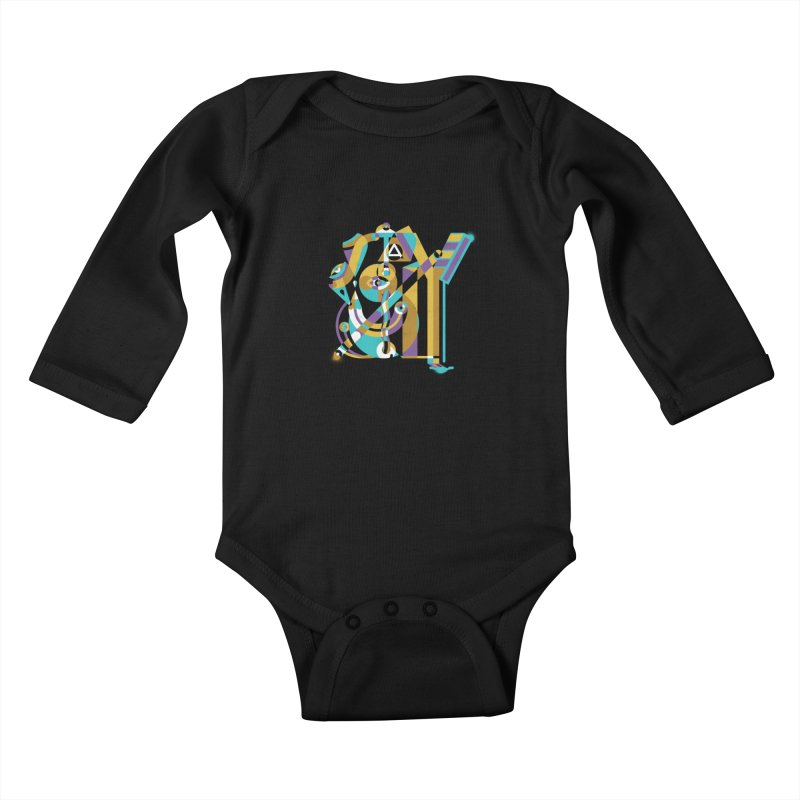 Stay Cubist Kids Baby Longsleeve Bodysuit by Mario Carpe Shop