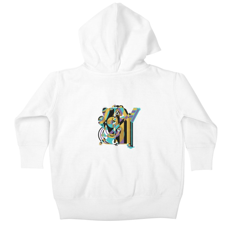 Stay Cubist Kids Baby Zip-Up Hoody by Mario Carpe Shop